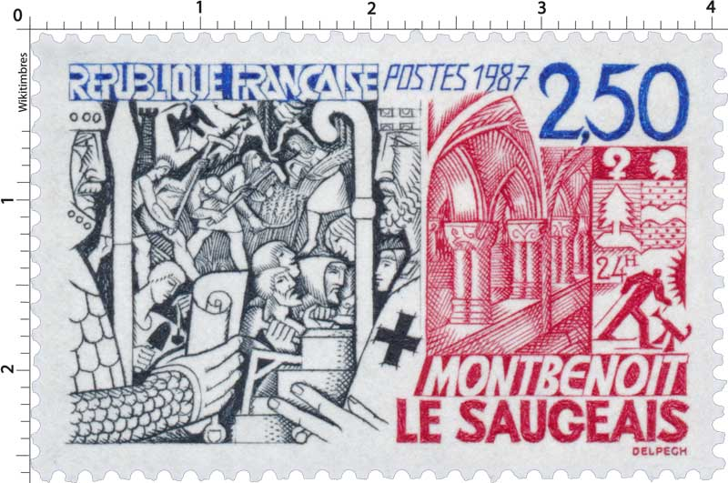 1987 MONTBENOÎT LE SAUGEAIS