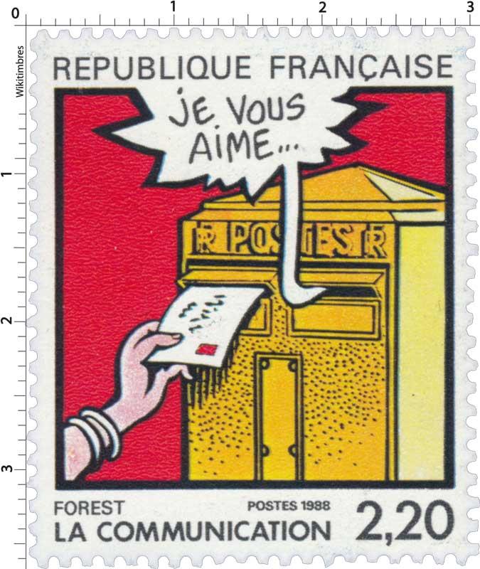 1988 LA COMMUNICATION FOREST - Je vous aime