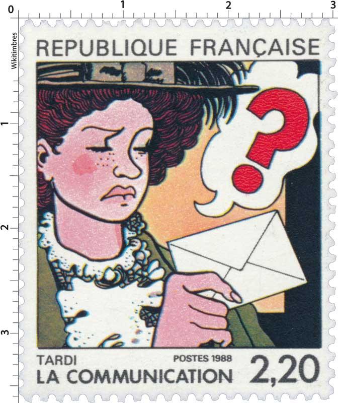 1988 LA COMMUNICATION TARDI