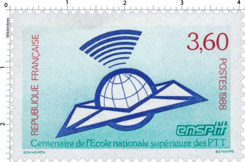 1988 Centenaire de l'École nationale supérieure des PTT ensptt