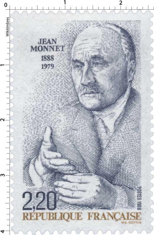 1988 JEAN MONNET 1888-1979