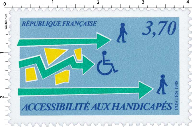 1988 ACCESSIBILITÉ AUX HANDICAPÉS