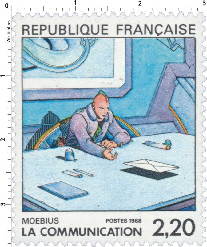 1988 LA COMMUNICATION MOEBIUS