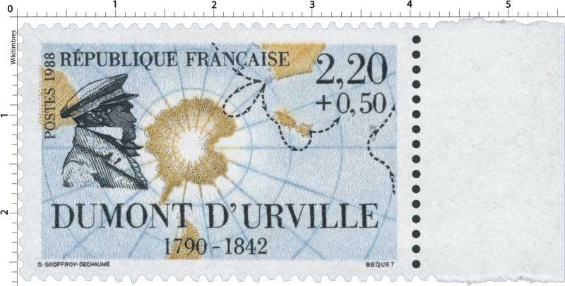 1988 DUMONT D'URVILLE 1790-1842