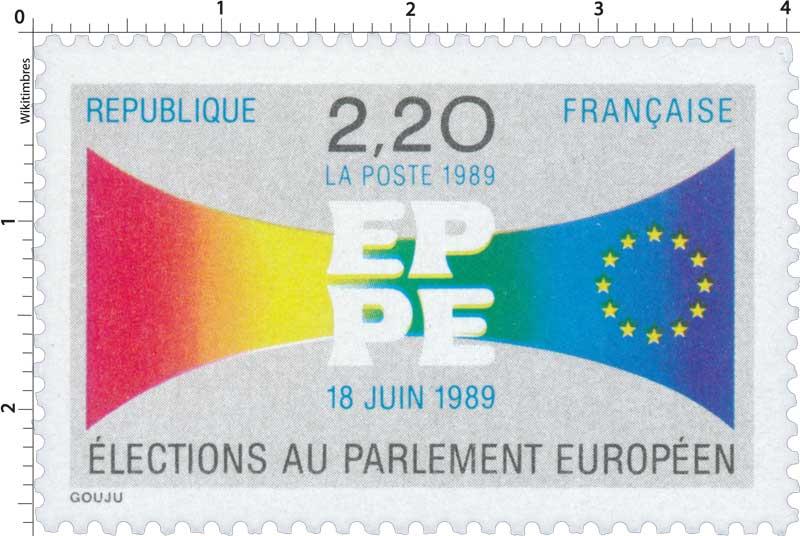 1989 EPPE 18 JUIN 1989 ÉLECTIONS AU PARLEMENT EUROPÉEN