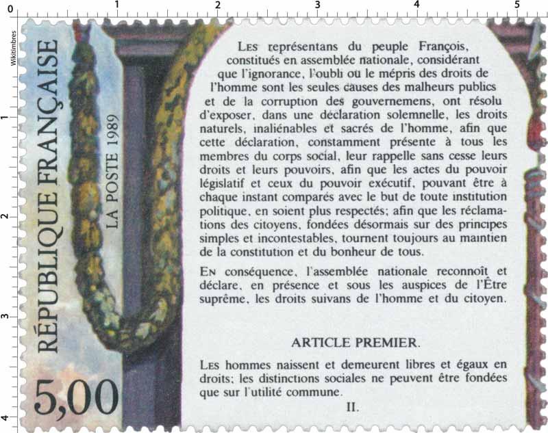 1989 ARTICLE PREMIER