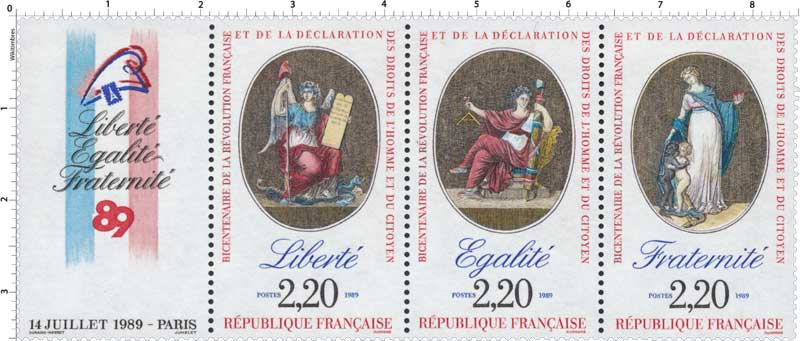 La Révolution, à travers la Philatélie POSTE-1989-40