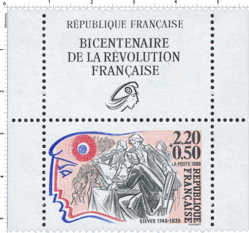 1989 SIEYÈS 1748-1836