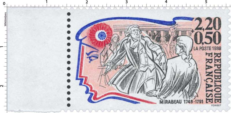 1989 MIRABEAU 1749-1791