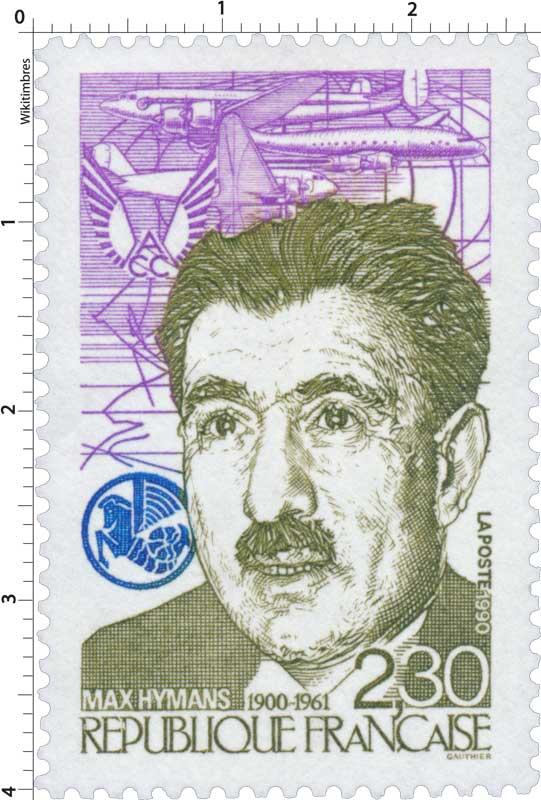 1990 MAX HYMANS 1900-1961