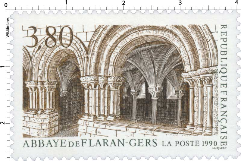 1990 ABBAYE DE FLARAN - GERS