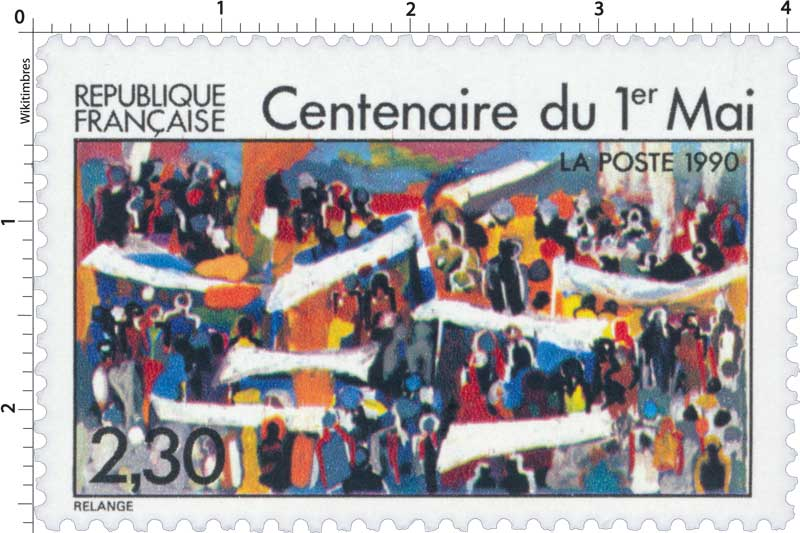 1990 Centenaire du 1er Mai