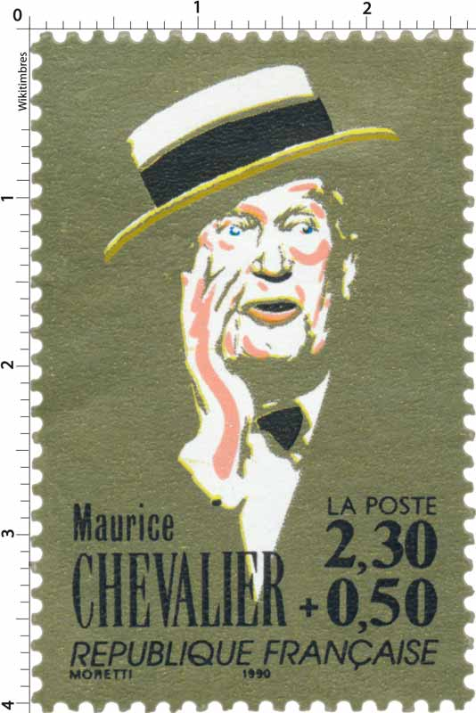 1990 Maurice CHEVALIER