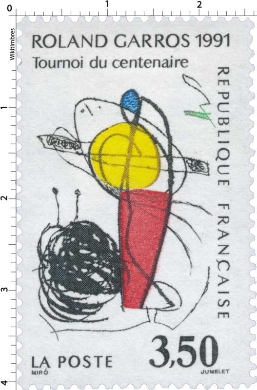 ROLAND GARROS 1991 Tournoi du centenaire