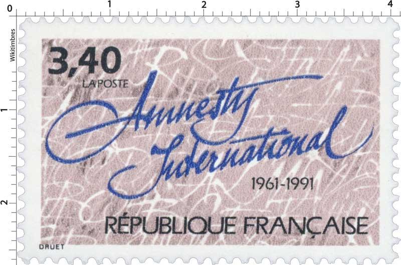 Amnesty International 1961-1991