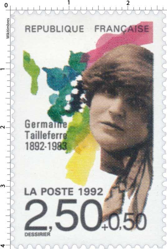 1992 Germaine Tailleferre 1892-1983