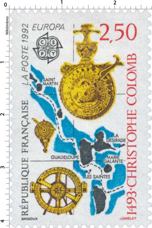 1992 EUROPA CEPT 1493 - CHRISTOPHE COLOMB