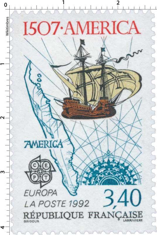 1992 EUROPA CEPT 1507 - AMERICA