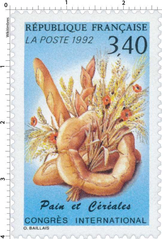1992 Pain et Céréales CONGRÈS INTERNATIONAL