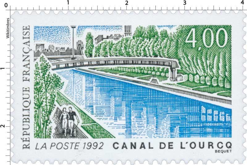 1992 CANAL DE L'OURCQ