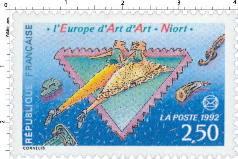 1992. L'Europe d'Art d'Art. Niort.