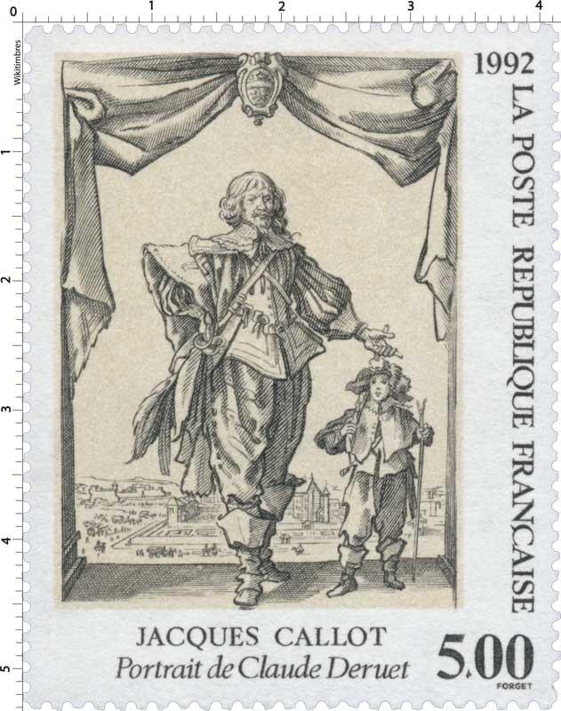 1992 JACQUES CALLOT Portrait de Claude Deruet