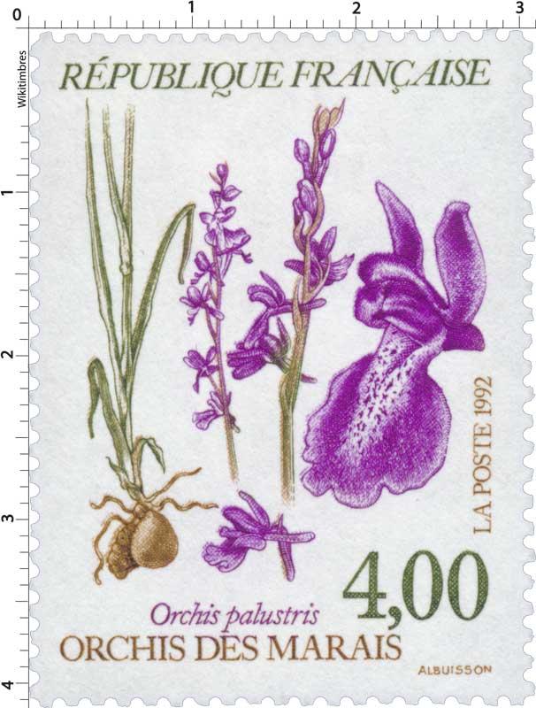 1992 ORCHIS DES MARAIS Orchis palustris