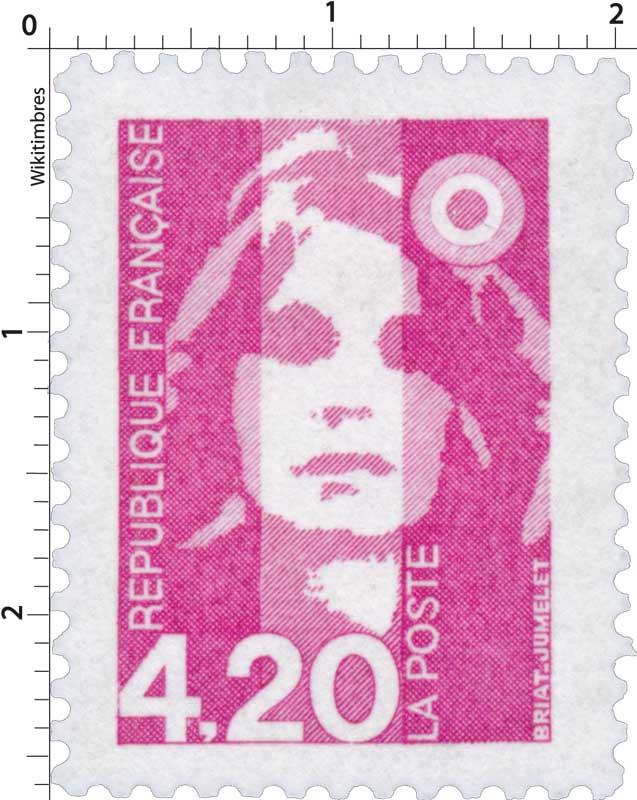Sans légende particulière - type Marianne de Briat
