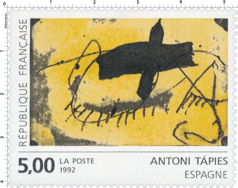 1992 ANTONI TAPIÈS Espagne