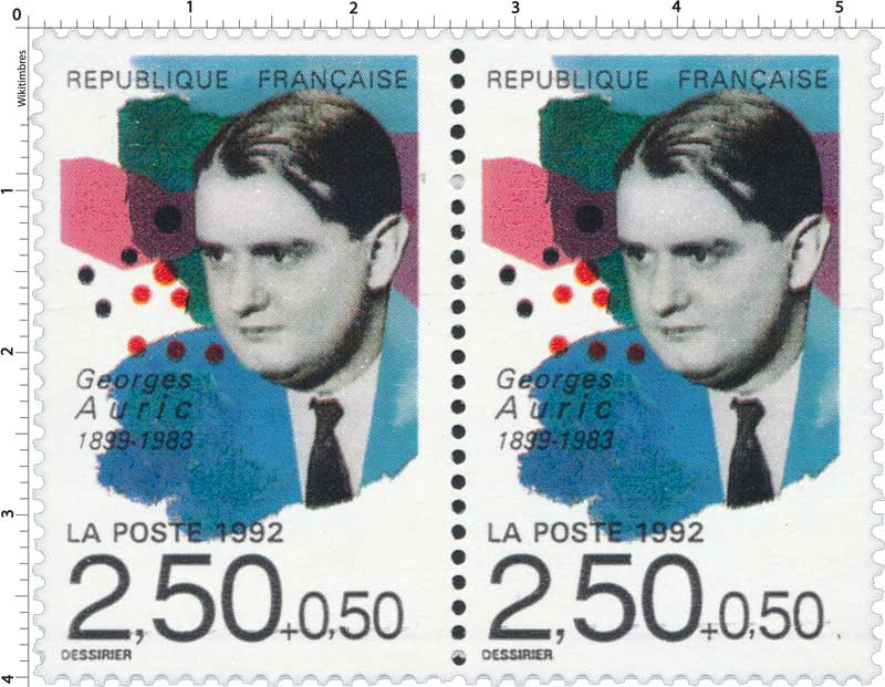1992 Georges Auric 1899-1983
