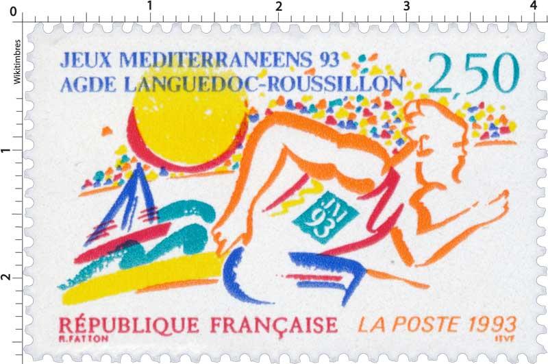 1993 JEUX MÉDITERRANÉENS 93 AGDE LANGUEDOC-ROUSSILLON