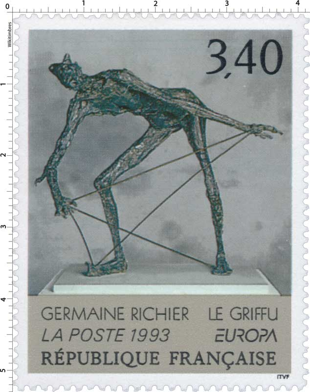 1993 EUROPA GERMAINE RICHIER LE GRIFFU