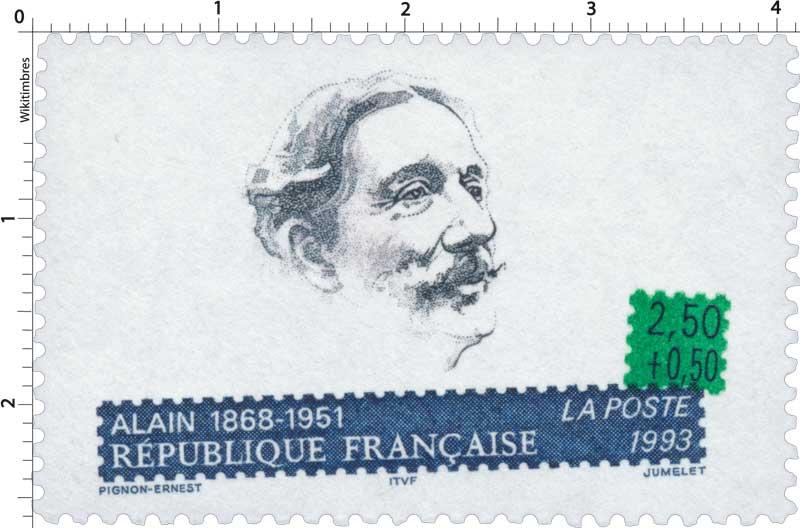 1993 ALAIN 1868-1951