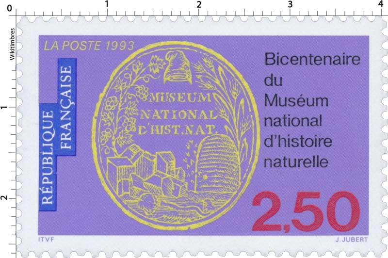 1993 Bicentenaire du Muséum national d'Histoire naturelle