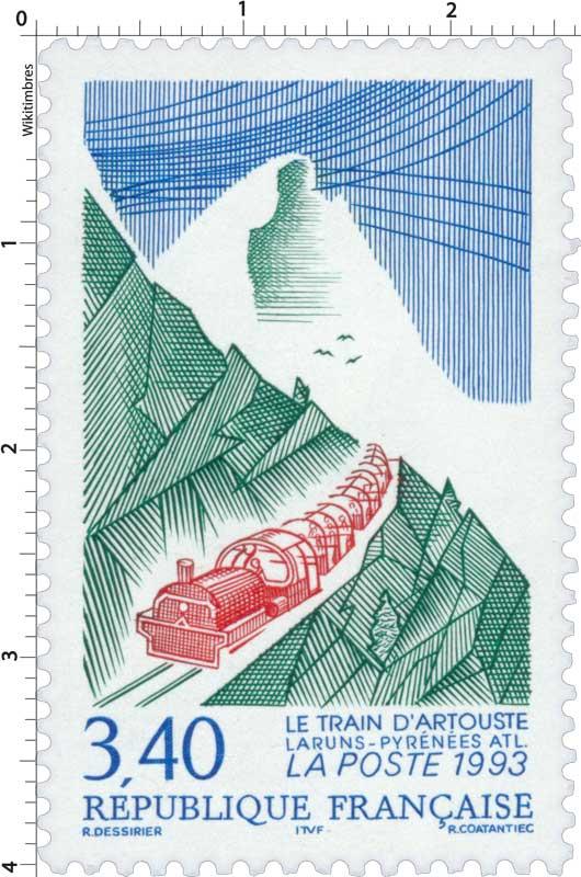1993 LE TRAIN D'ARTOUSTE LARUNS-PYRÉNÉES ATL