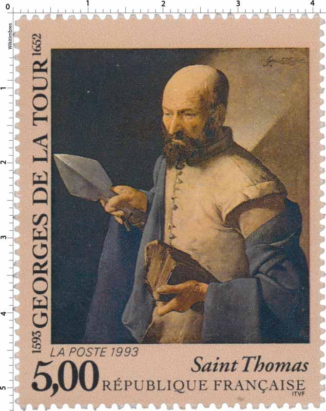 1993 GEORGES DE LA TOUR 1593-1652 Saint Thomas