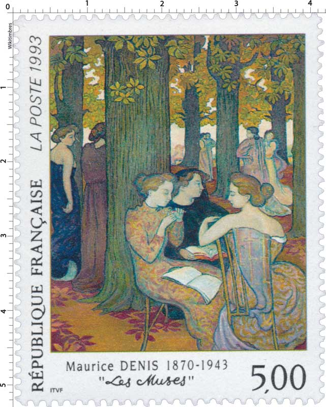1993 Maurice DENIS 1870-1943 Les Muses