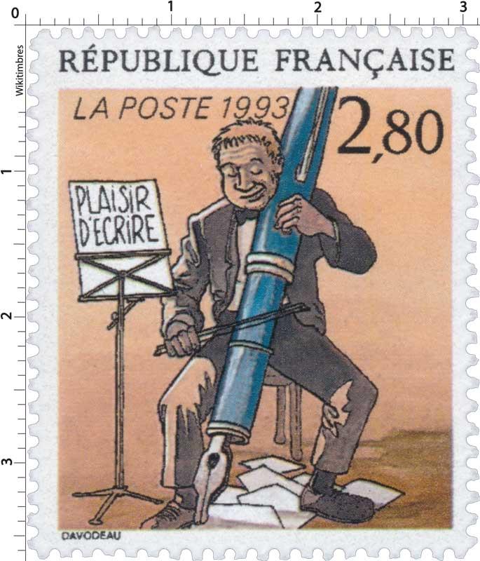 1993 PLAISIR D'ÉCRIRE