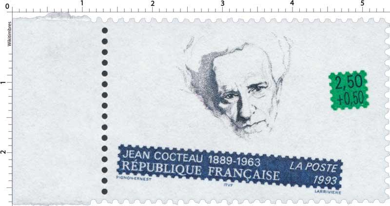 1993 JEAN COCTEAU 1889-1963