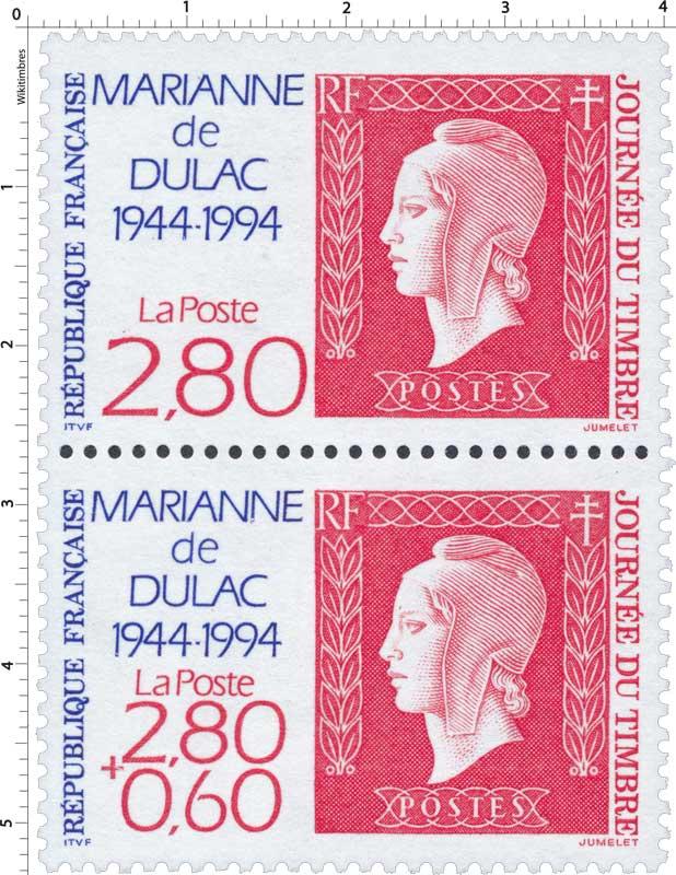 JOURNÉE DU TIMBRE MARIANNE de DULAC 1944-1994