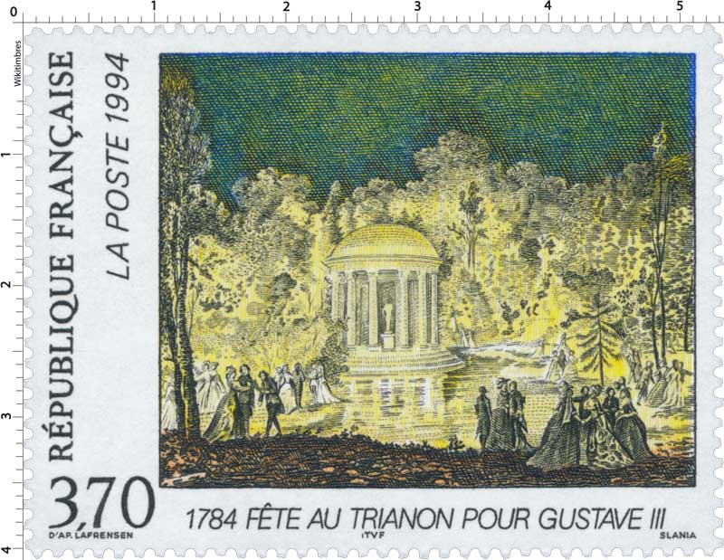 1994 FÊTE AU TRIANON POUR GUSTAVE III 1784