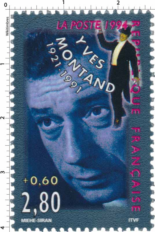 1994 YVES MONTAND 1921-1991