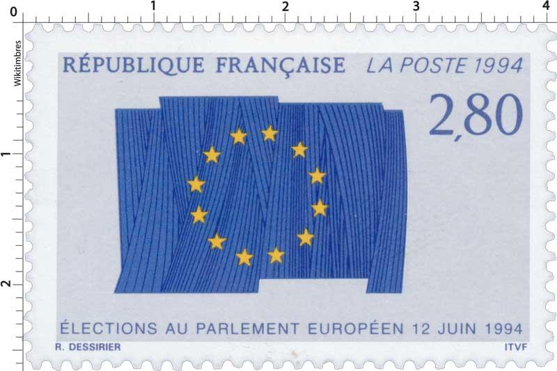 1994 ÉLECTIONS AU PARLEMENT EUROPÉEN LE 12 JUIN 1994