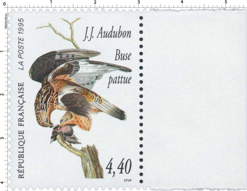 1995 J.J. Audubon Buse pattue