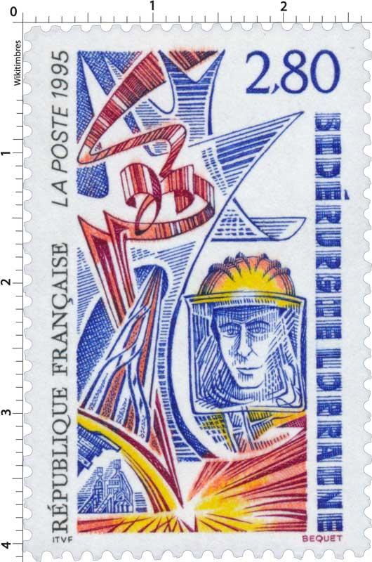 1995 SIDÉRURGIE LORRAINE