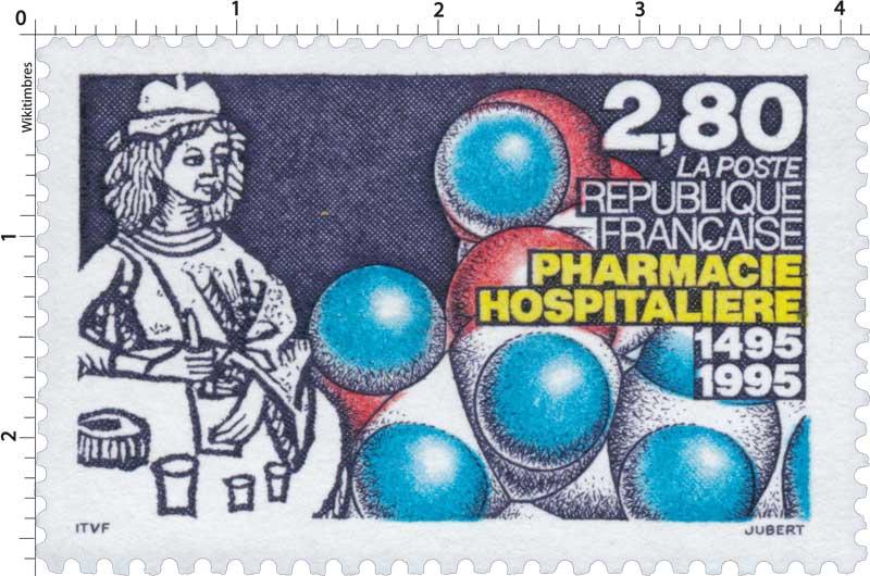 PHARMACIE HOSPITALIÈRE 1495-1995