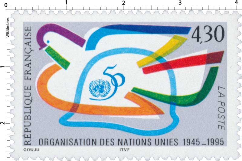 50 ORGANISATION DES NATIONS UNIES 1945-1995