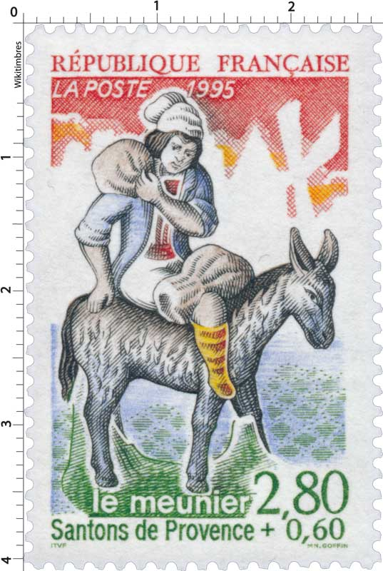 1995 Santons de Provence le meunier