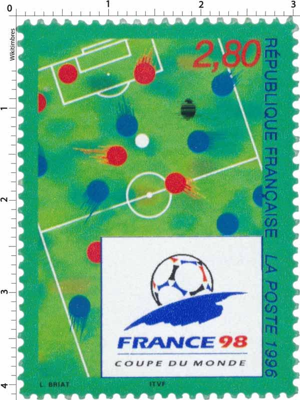 1996 FRANCE 98 COUPE DU MONDE