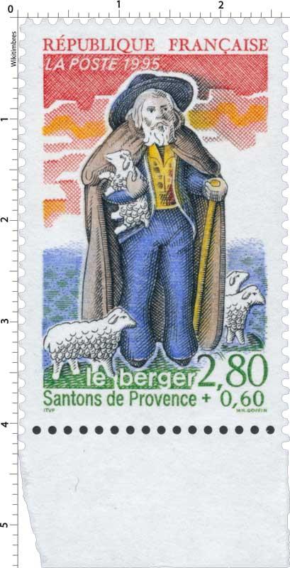 1995 Santons de Provence le berger